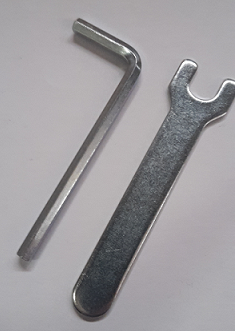 Allen key and spanner