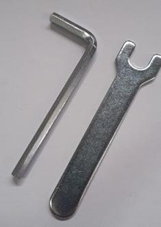 Allen key and spanner