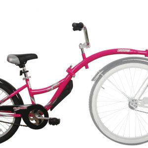 WeeRide Co Pilot Tagalong – Pink