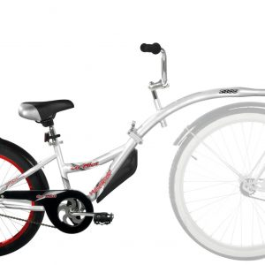 WeeRide Co Pilot Tagalong – Silver