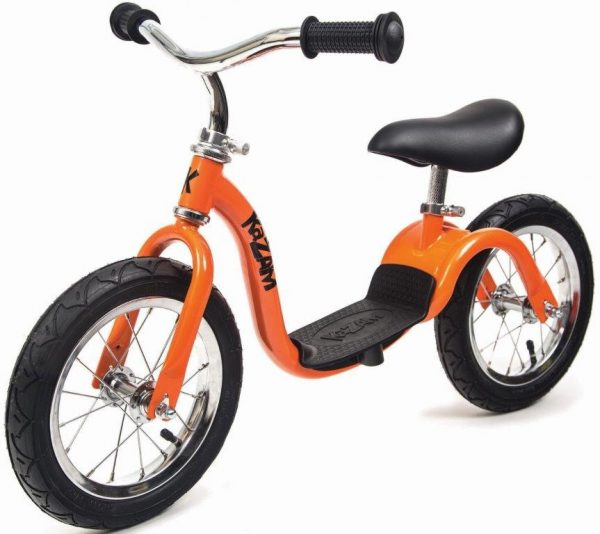 WeeRide Balance Bike in orange