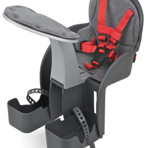 WeeRide Safe Front Baby Bike Seat – Grey