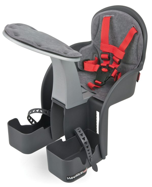 WeeRide Safe Front baby bike seat angle view