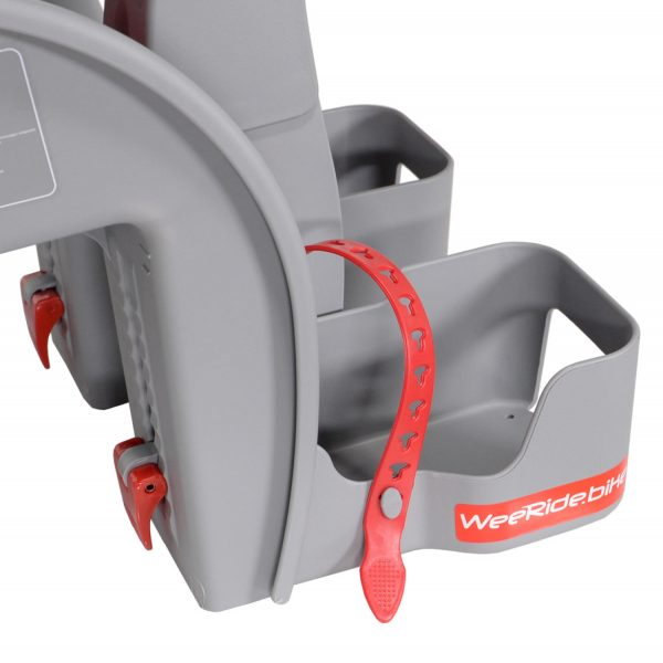 WeeRide Safe Front baby bike seat foot straps
