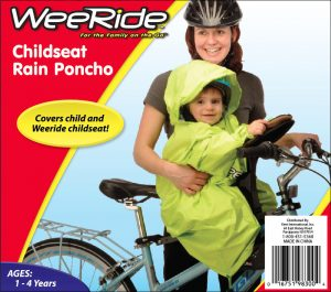 WeeRide Poncho yellow