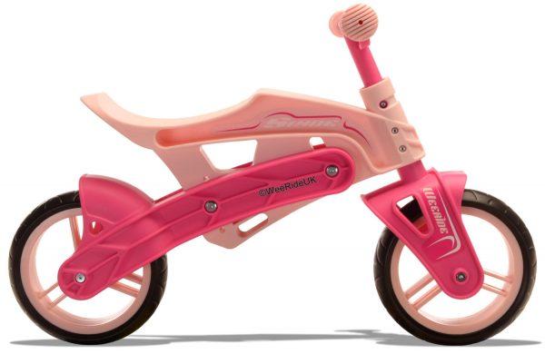 WeeRide Slyde balance bike pink