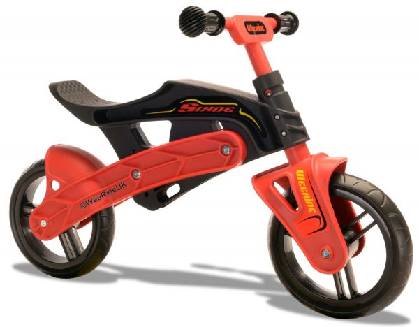 WeeRide Slyde balance bike red and black