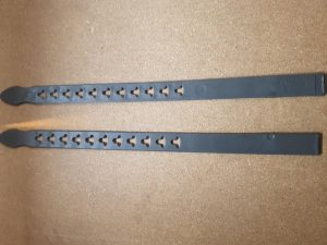 Image of replacement foot straps for bike seat