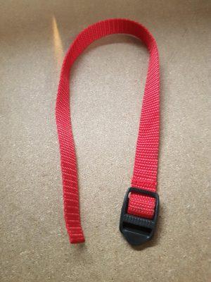 Mounting bar strap