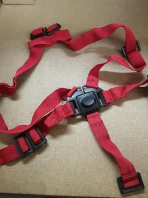 Image of bike seat straps