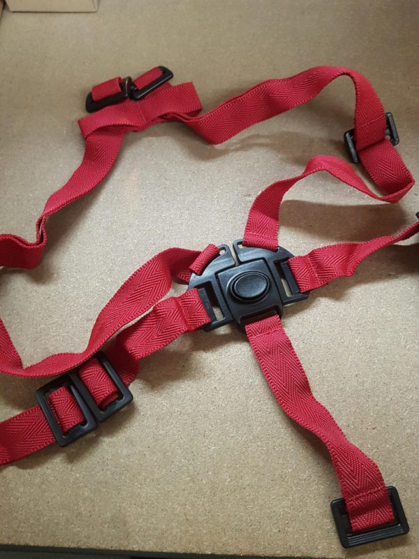 Image of bike seat straps