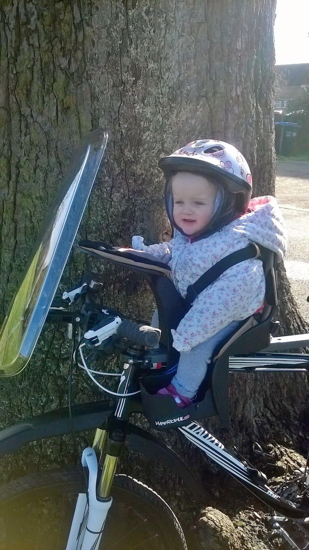 Child on bike seat