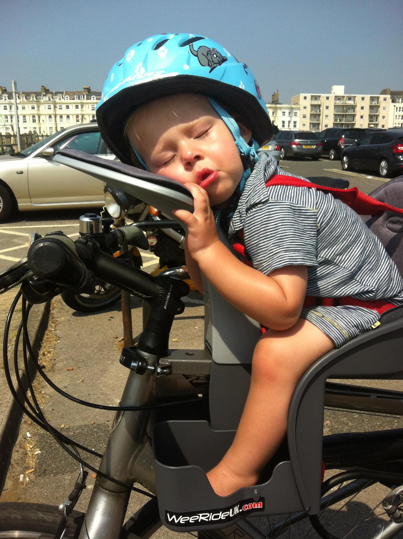 Trek mountain bike with child seat